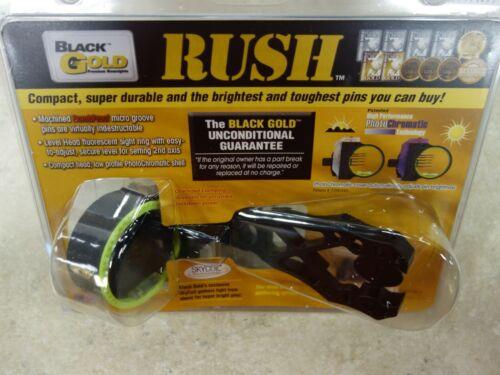 Black Gold Bowsights Rush - 5 Pin - RH - NIP!