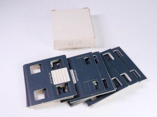 ~48 Cardboard Stereo Realist foldovers mounts 2116 - BC2