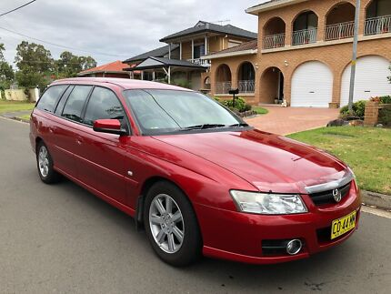 2006 Holden Berlina VZ Wagon (Leather Seats) Auto 8months Rego