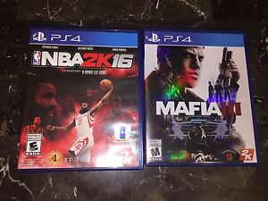 PS4 GAMES FOR TRADE OR CASH