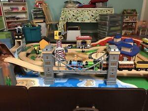 Kids' Train Table (with Thomas the Train engines)