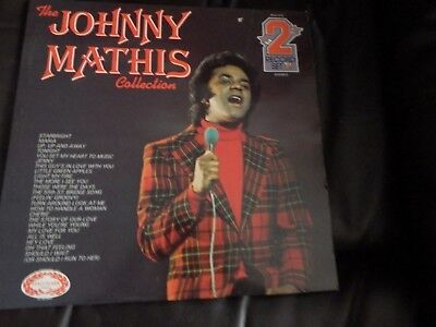 The Johnny Mathis Collection - 2x Vinyl Record LP Albums - PDA 015 - 1973