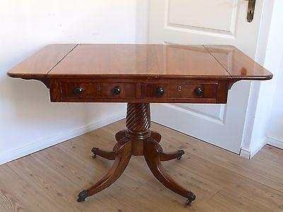 """Antiker englischer """"Pembroke-Table"""" von ca. 1830, Schreibtisch, Couchtisch Tisch"""