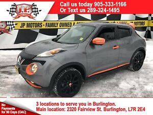 2015 Nissan Juke SV, Auto, Leather, Sunroof, AWD, 41, 000km