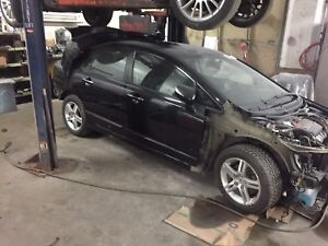 Acura csx 2008 part out for parts