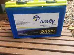 2 x Firefly AGM (Carbon Foam) Batteries 116ah Highgate Hill Brisbane South West Preview