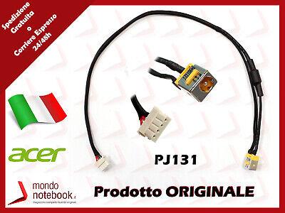 Connettore Alimentazione DC Power Jack PJ131 Acer Aspire 6930G 6930Z