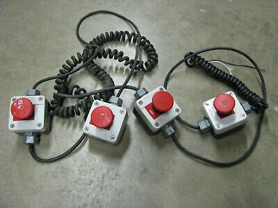 Telemecanique Iso 20 Emergency Redstop Pushpull Button Switch