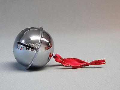 LIONEL POLAR EXPRESS SILVER SLEIGH BELL train santa jingle movie 6-30218-B NEW - Polar Express Sleigh Bell