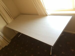 Long White Desk Kellyville Ridge Blacktown Area Preview