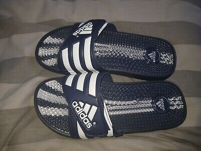 Adidas Adissage Sliders Flip Flops Size 7 Gym Holiday Beach used
