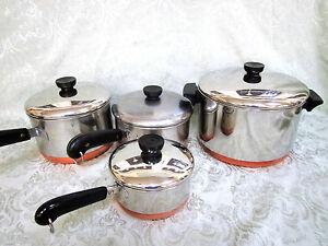 Revere Ware Pots Pans Ebay