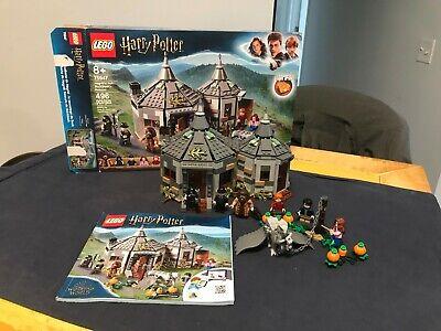 LEGO Harry Potter 75947 Hagrid's Hut Buckbeak's Rescue COMPLETE w box, book