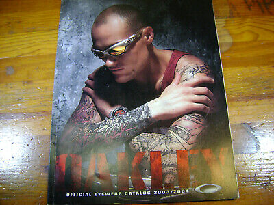 Oakley Official Eyewear Catalog 2003/2004 M-Frame Monster-Dog (Oakley Catalog)