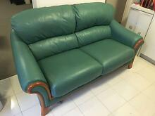 Leather Sofa priced to clear Balaclava Port Phillip Preview