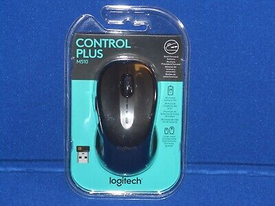 Logitech M510 Wireless Mouse USB Unifying 24 Month Battery Life Left/Right Hand