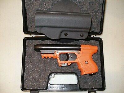 FIRESTORM JPX 2 LE PEPPER ORANGE GUN WITH LASER AND KYDEX  BELT HOLSTER