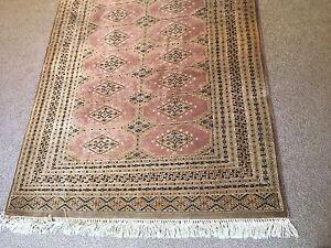 Rug - Silk & wool hand knotted carpet in mushroom/ beige Kew East Boroondara Area Preview