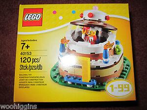 LEGO BIRTHDAY CAKE 40153 - NEW/BOXED/SEALED