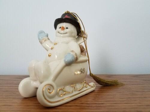 Lenox Snowman ornament from 1999