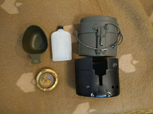 VTG Genuine Swedish Military Army Mess Kit Trangia