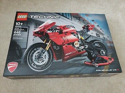 LEGO 42107 Technic Ducati Panigale V4 R 646 Piece Block Set Toy Model Motorcycle