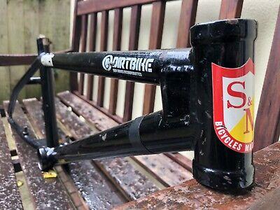 Mid School Bmx S&m Dirt Bike Frame Black Survivor Bmx Frame