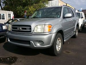 2002 TOYOTA SEQUOIA LIMITED,GOOD CONDITION,RUNS & DRIVES AMAZING