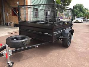 7X5 HI SIDE HEAVY DUTY 1Y PRIV REGO 600MM CAGE $1500 ON ROAD Blue Mountains Preview