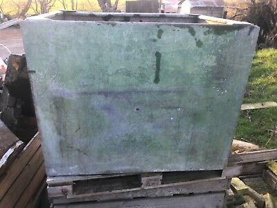 Old Galvanised Cold Water Storage Tank