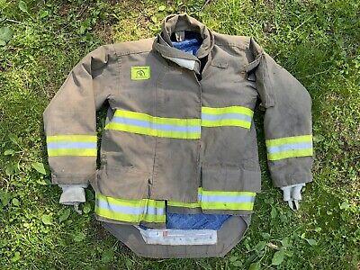 Morning Pride Fire Fighter Turnout Jacket 42 2935 34 Bunker Gear 2770