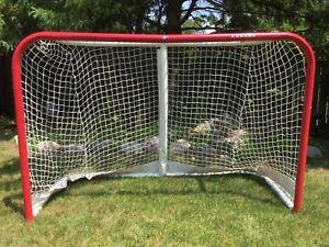 Hockey Net and Goalie Equipment