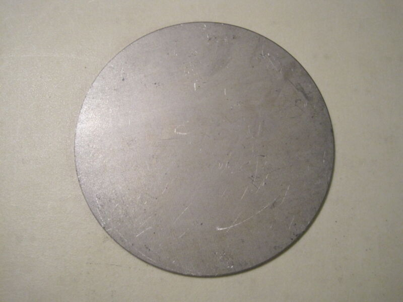 "1/8"" Steel Plate, Disc Shaped, 9"" Diameter, .125 A36 Steel, Round, Circle"