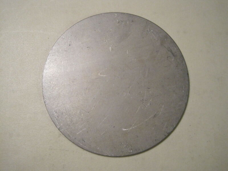 "1/16"" Steel Plate, Disc, 12.00'' Diameter, .0625 A36 Steel, Round, Circle, 16ga"