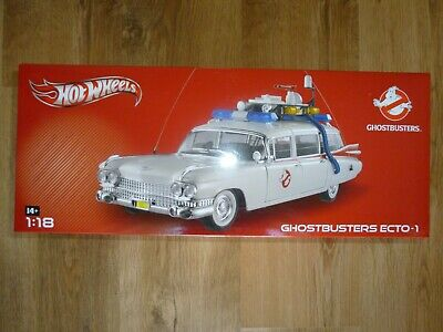 Mattel Hot Wheels Ghostbusters 18th scale ECTO-1