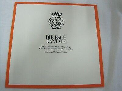 LP -  Bach-Ensemble, Helmuth Rilling, Bach-Collegium Stuttgart, Die Bach Kante