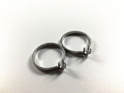 Dental Wedge Clasp Ring For Sectional Contoured Matrices Matrix Stainless Hoop