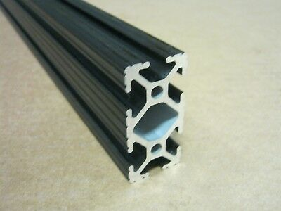 8020 Inc 1 X 2 T-slot Aluminum Extrusion 10 Series 1020 X 24 Black H1-1