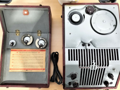 NICE VINTAGE Webster Chicago Audio Wire Recorder 1940
