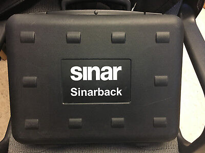 Digital Back Adapter (SinarBack 54 Digital Back with Sinar Plate Adapter 551.65.233 and Covers 551.65.)