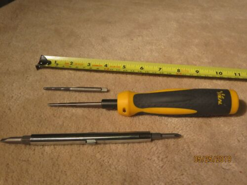 Ideal Industries Twist - A - Nut  Screwdriver 35-908 and  Tap Tool  35-923