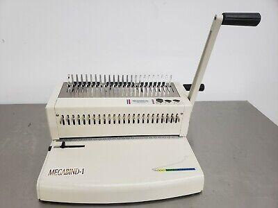 Akiles Megabind-1 14 Plastic Comb Binding Machine Punch
