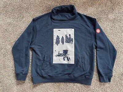 Cav Empt C.E Pullover Sweatshirt   Navy Blue   Size M   Men's/Women's