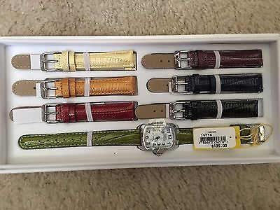Invicta Lupah Interchangeable Women's Leather Watch with Assorted Color Bands
