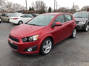 2015 Chevrolet Sonic LT- HEATED FRONT SEATS, REAR VIEW CAMERA