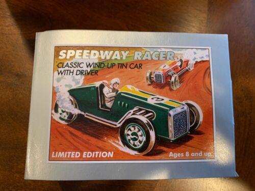 Schylling Speedway Racer Wind Up Tin Car Toy Race Car #3
