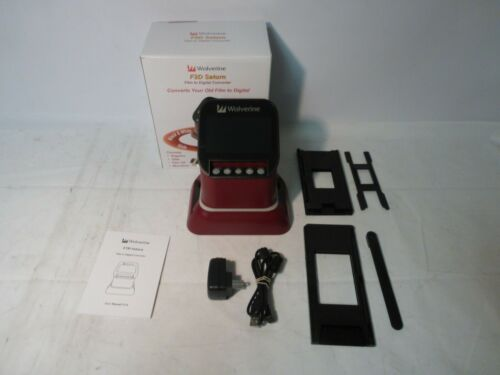 Wolverine F2D Saturn Digital Film & Slide Scanner - Red