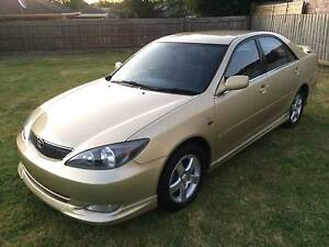 2004 TOYOTA CAMRY SPORTIVO 2.4LT 4CYL AUTO 12 MONTHS REG RWC Dandenong Greater Dandenong Preview