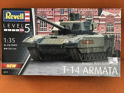 "Revell 1:35 03274 Russian Main Battle Tank - T-14 Armata Bausatz ""Neu""(AND)"