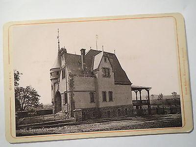 Giessen - Corps Teutonia - Corphaus - 1895 - Haus - KAB / Studentika